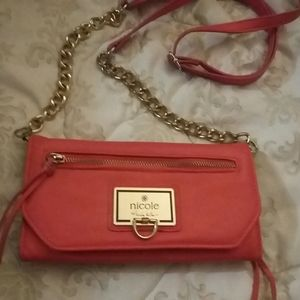 Nicole Miller Cross body Coral Pink